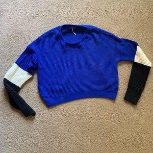 Sparkle & Fade crop top sweater